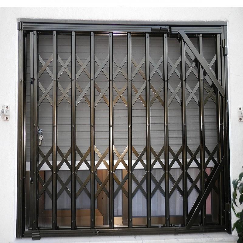 Rejas extensibles o de ballesta para puertas ventanas y - Rejas exteriores ...
