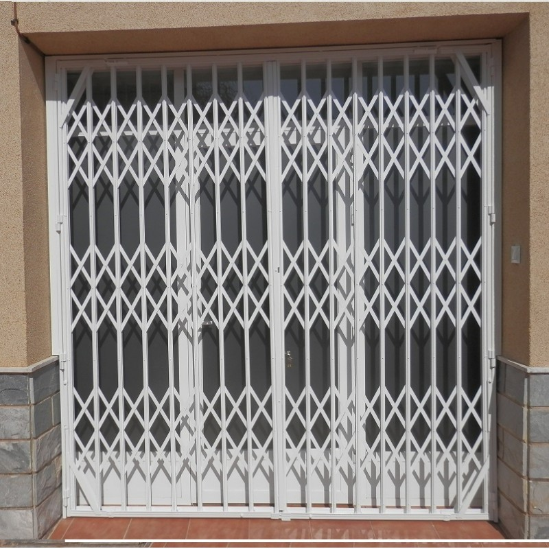 Rejas de ballesta para puertas ventanas y negocios - Rejas correderas para puertas ...