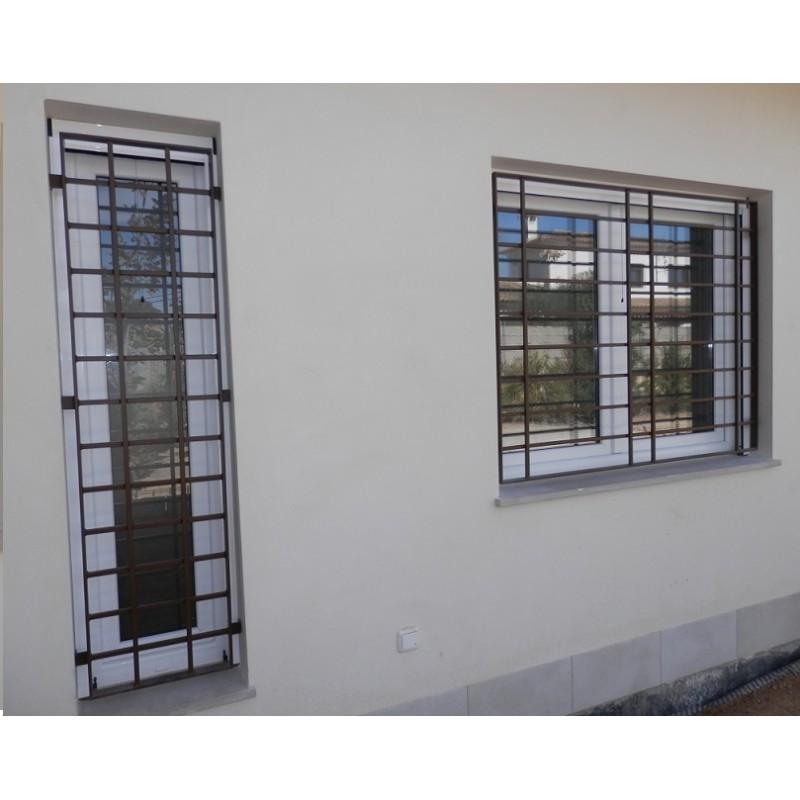 Rejas fijas modernas modelo horizontal rejas de seguridad - Fotos de rejas ...