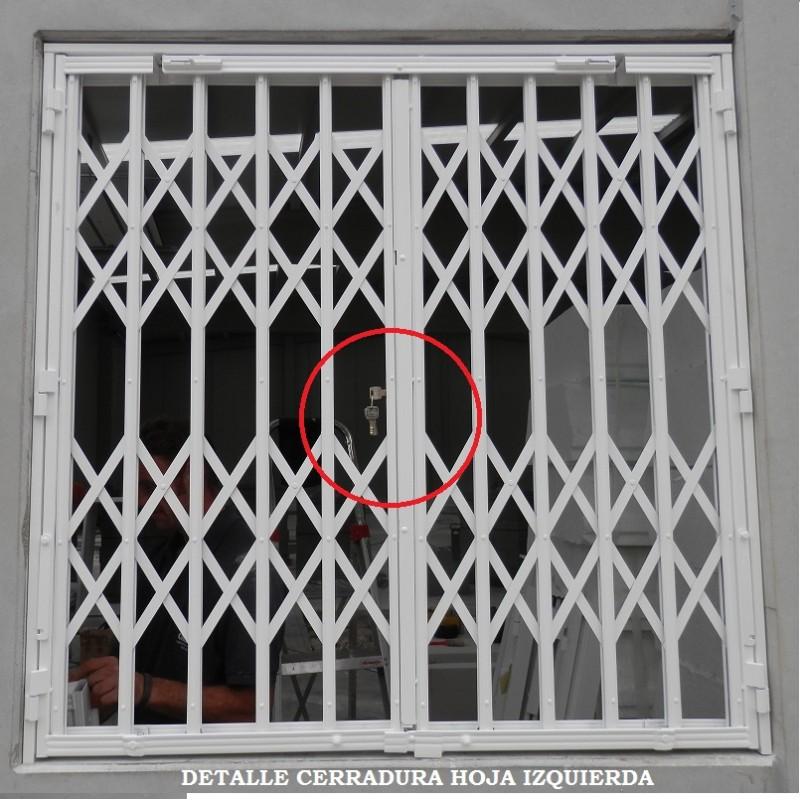 Rejas de ballesta para puertas, ventanas y negocio puertas extensibles